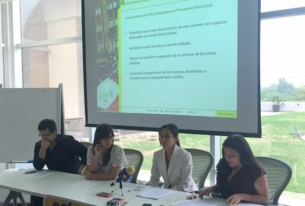 En compañía de ITDP México y Cómo Vamos Nuevo León, lanzamos la agenda de movilidad 2015-2018