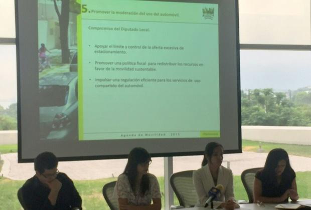 La agenda de movilidad busca mejorar las ciudades,  hacerlas más seguras y caminables.