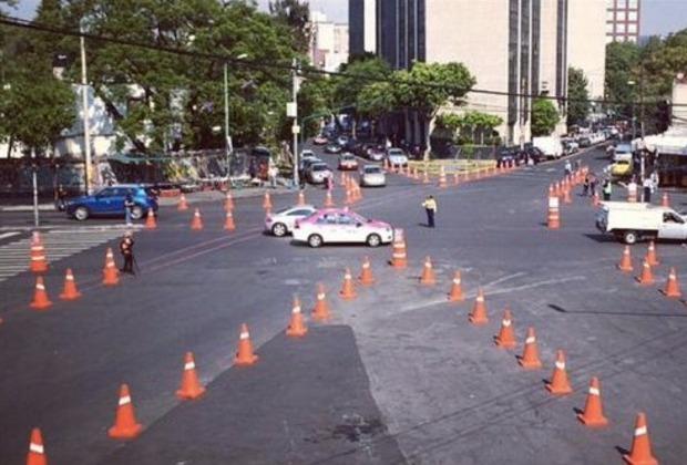La intervención consiste en aumentar el espacio para los peatones y hacer las calles más seguras